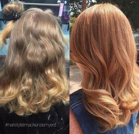 toner after bleaching copper hair formula pravana chromasilk express tones in gold 1 2 oz