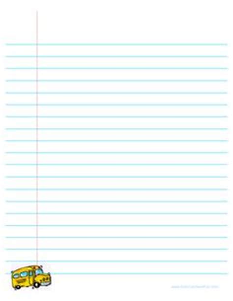 list writing paper welcome back to school lined paper back to school