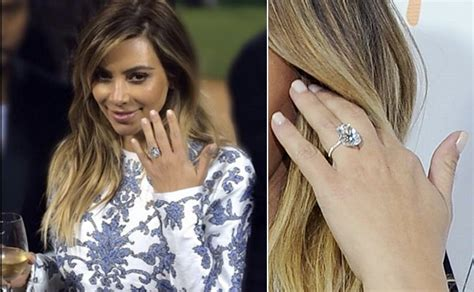 Kim Kardashians Secret To Keeping Her En Ement Ring