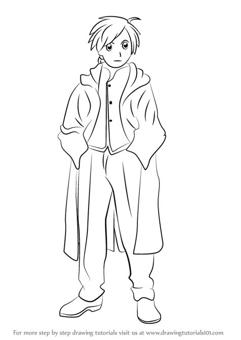 how to draw human doodle learn how to draw alphonse elric human from fullmetal