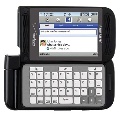 basic samsung qwerty phone with flash samsung zeal dual hinge phone features e ink qwerty