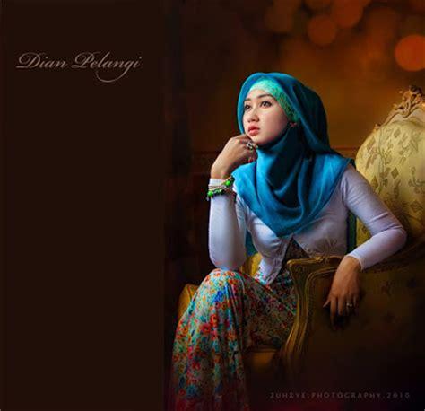 tutorial jilbab hijabers community cara memakai jilbab kerudung paris ala dian pelangi