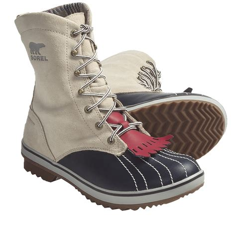sorel womens tivoli c 18 boots shoes fleece lining