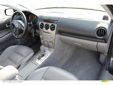 gray interior 2004 mazda mazda6 i sport sedan photo