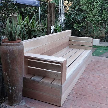 how to make a patio bench make your own wood patio furniture