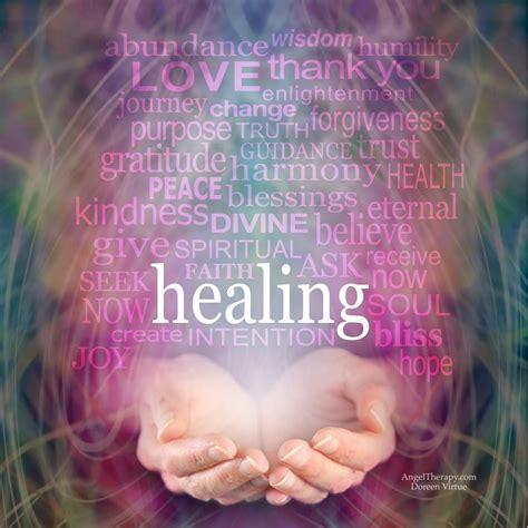 sending  healing energy     area   life doreen virtue
