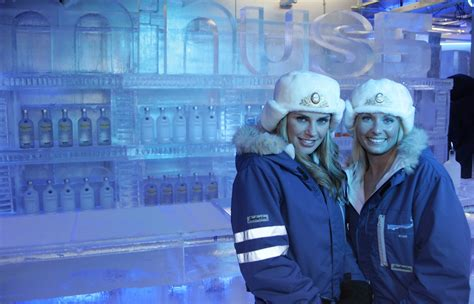 chilling out in las vegas ice bar greatest getaways