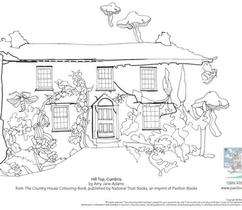 country house coloring pages image from the country house colouring book country