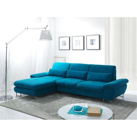 Modern Fabric Corner Sofas Bardo Modern Fabric Corner Sofa Bed In Blue With Storage Pineridgebowl