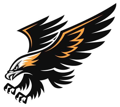 black hawk football logo hawk football logo