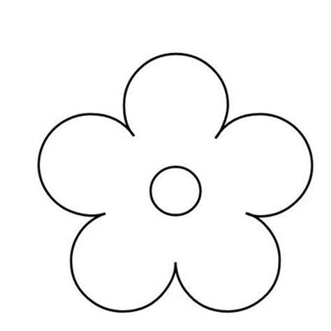 imagenes flores simples flor simples molde revista artesanato