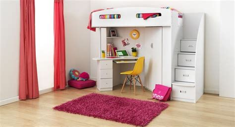 bunk beds for girls with desk 1 199 00 forty winks bunk beds pinterest desk