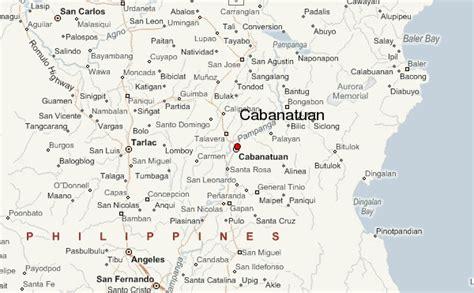san jose city nueva ecija map cabanatuan city weather forecast