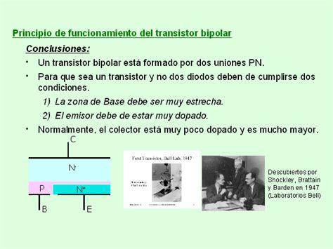 transistor pnp aplicaciones componentes electr 243 nicos el transistor bipolar monografias