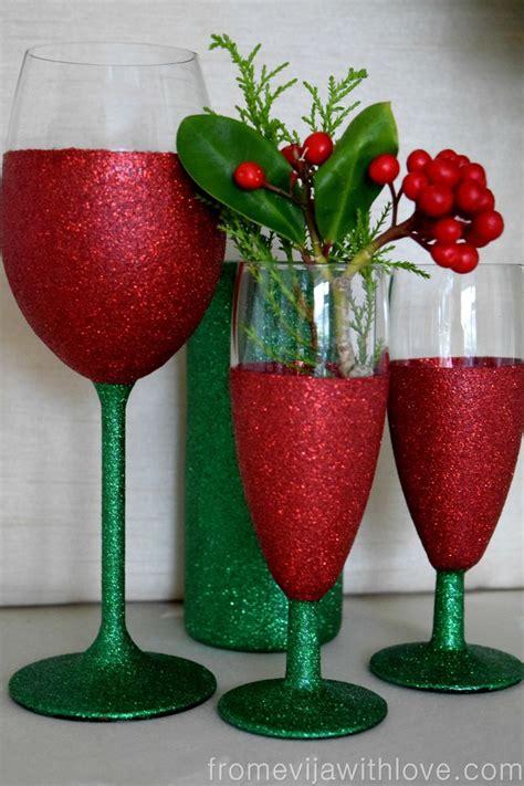 sparkle light christmas glasses best 25 glitter glasses ideas on glitter wine glasses glitter glasses