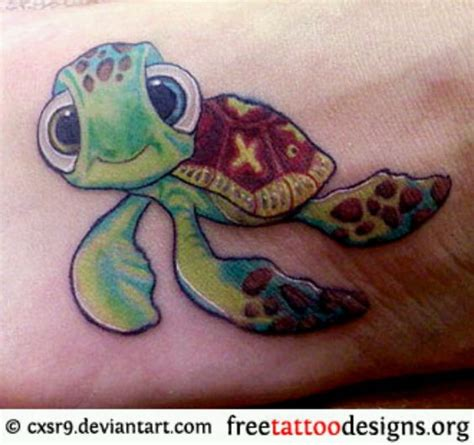 tattoo squirt seaturtles nemo tattoos