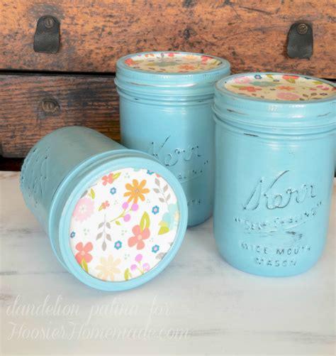 diy chalk paint techniques chalk paint jars dandelion patina
