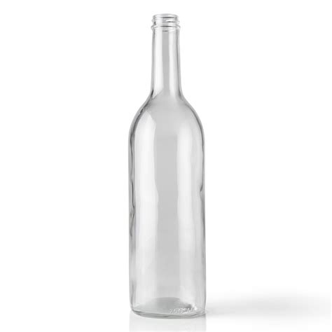 Glass Bottles bottiglie vino vuote 25 oz clear glass wine bottle