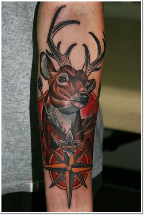hunting tattoos for men 25 deer tattoos for and