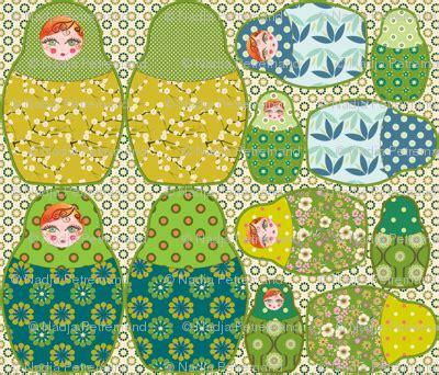 Réaliser Un Coussin by Coussin Poup 195 169 E Russe Vert Fabric Nadja Petremand