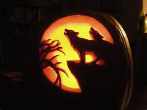 wolf pumpkin template 30 cool and easy pumpkin carving ideas for day
