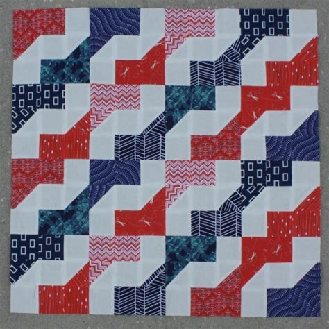 sewing pattern zig zag easy peasy faux zig zag quilt pattern by cluck cluck sew