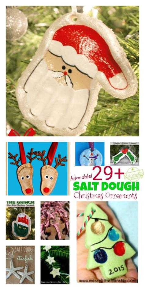 classic salt dough recipe for christmas ornaments 29 diy salt dough ornaments for the to make this