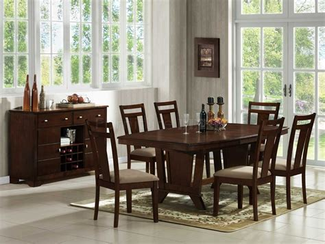 cherry wood dining room table cozy design cherry dining room chairs all dining room