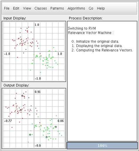 pattern recognition mini projects relevance vector machines