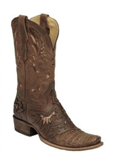 who makes the most comfortable cowboy boots corral cognac chocolate caiman hornback cowboy boots