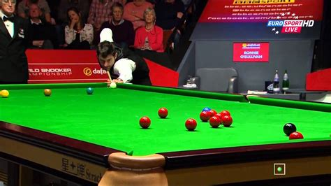 The Championship Table Best Rocket S Shots 1080p 2014 World Snooker Championship