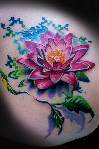 lotus tattoo color meaning flower tattoo images designs