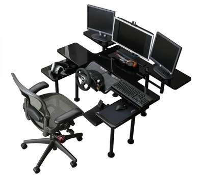 Roccaforte Ultimate Gaming Desk M S Y Roccaforte Ultimate Gaming Desk Mcs 010 Techbuy Australia