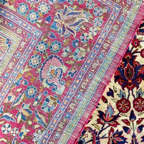 tappeti persiani seta tappeto persiano antico in seta kashan a preghiera