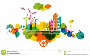 go green transparent colorful city stock image image