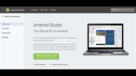 android studio install install android studio 2 3