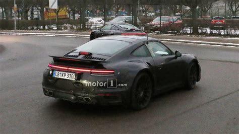 New 911 Porsche by Vwvortex Next Porsche 911 Mule Spied Testing