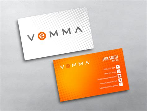 Vemma Business Card Template by Vemma Business Card 02