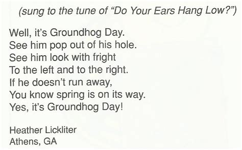groundhog day poetry best photos of groundhog day poem groundhog day