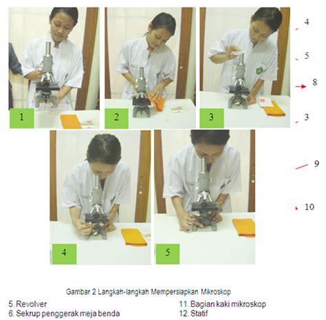 Sekrup Putih 1 12 tata cara menggunakan mikroskop yang baik dan benar