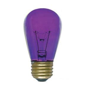 Purple Light Bulbs by 11s14 Transparent Purple Industrial Grade Sign Light Bulb