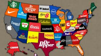 brands on the us map wallpapers and images wallpapers