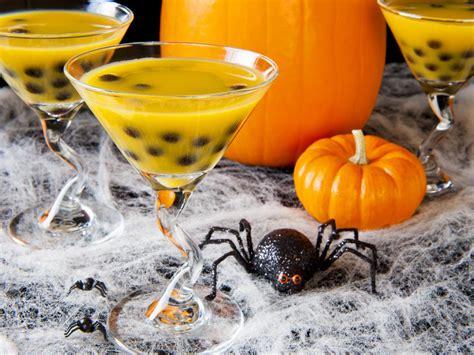 martini halloween jack o lantern halloween cocktail recipe hgtv