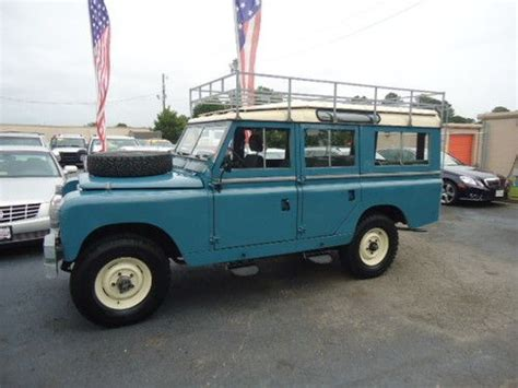 land rover safari roof find used 1964 land rover defender 109 series safari roof