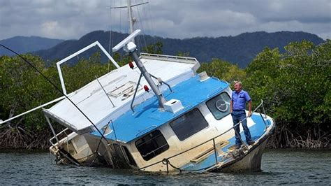 boat salvage business cairns tour operators and salvage business at odds over