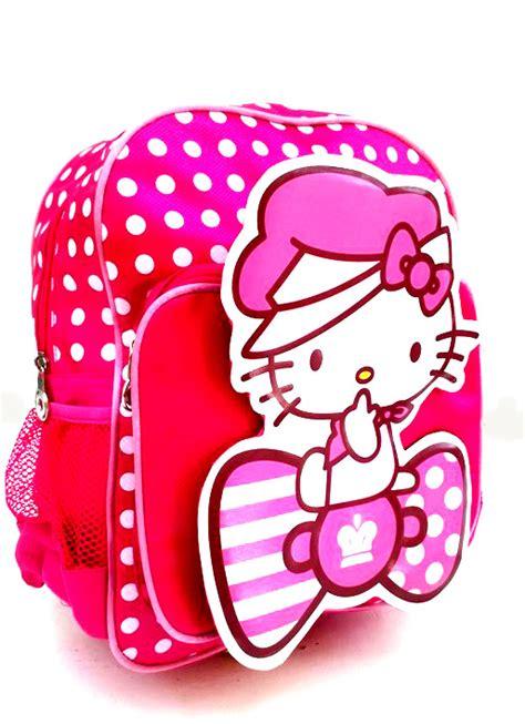 tas ransel tas polkadot merah aneka tas batita pg dan tk toko bunda