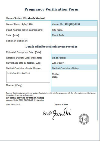 pregnancy template pregnancy confirmation letter template letter template 2017