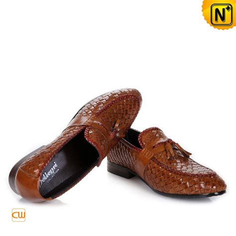 woven loafers mens s woven dress tassel loafers shoes cw750068