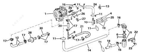 Evinrude 1987 35 E35arlcud Vro Pump Parts Catalog