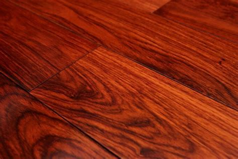 Prefinished african rosewood hardwood flooring
